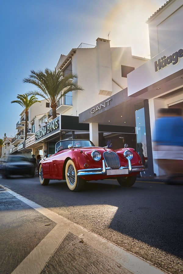 Classic Car At Puerto Banus
